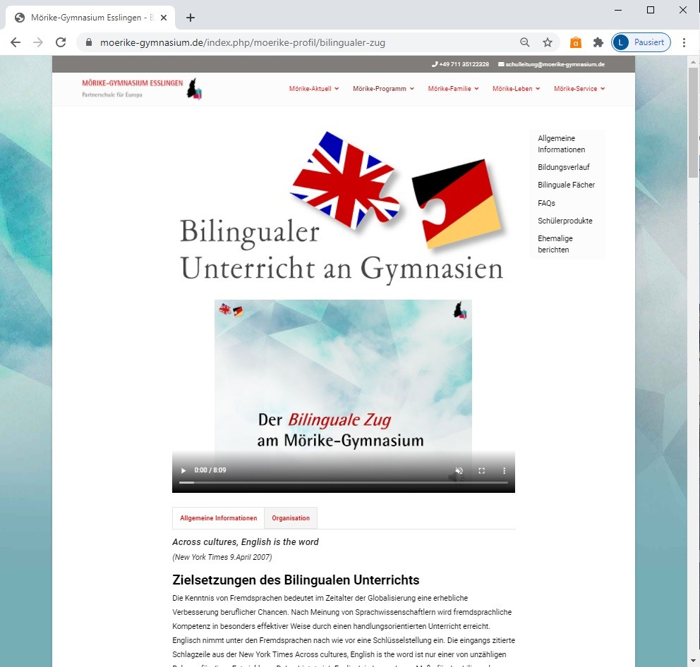 Interesse am Bilingualen Zug?