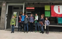 Exkursion zum Recycling-Workshop